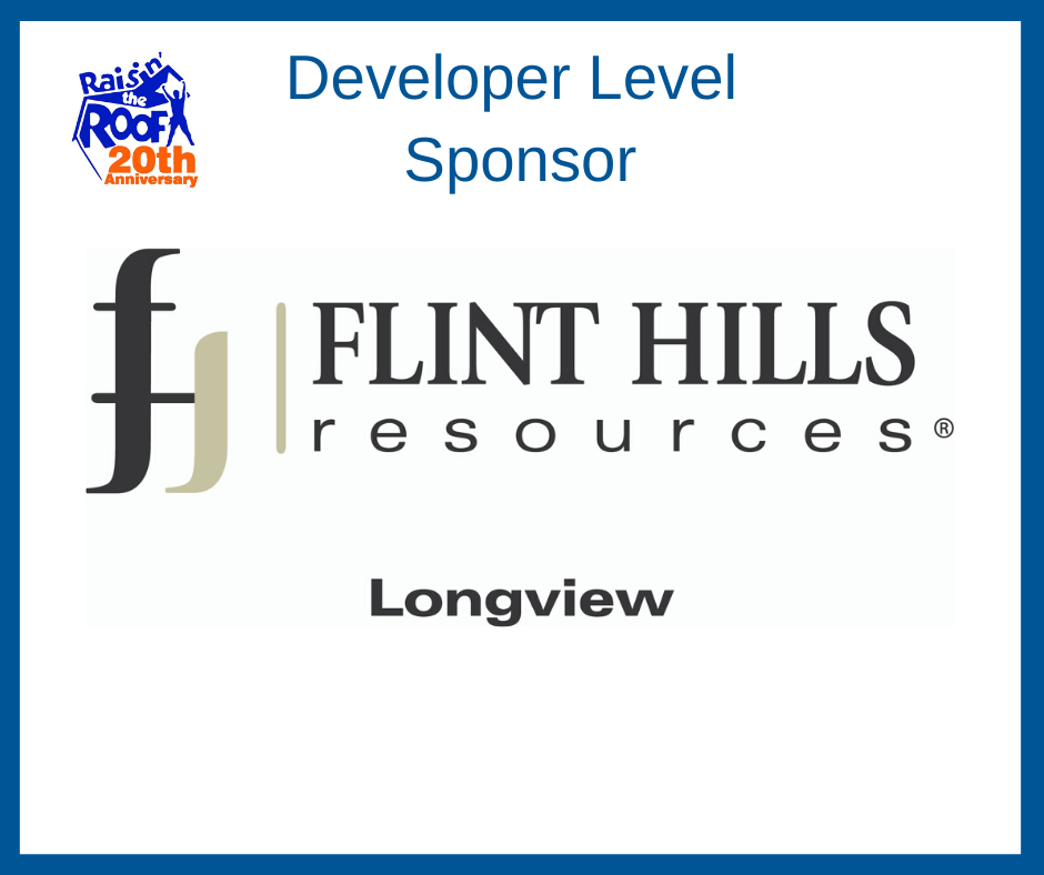 Developer Level Sponsor 2020- Flint Hills