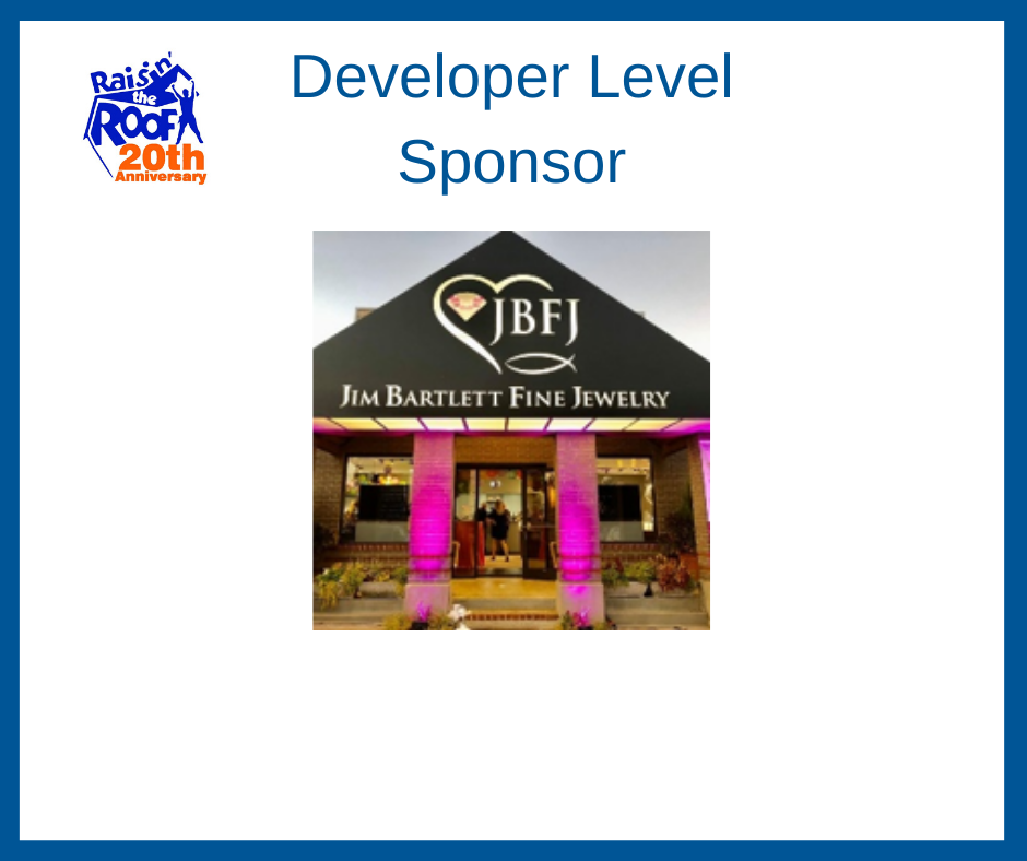 Developer Level Sponsor 2020-Jim Bartlett