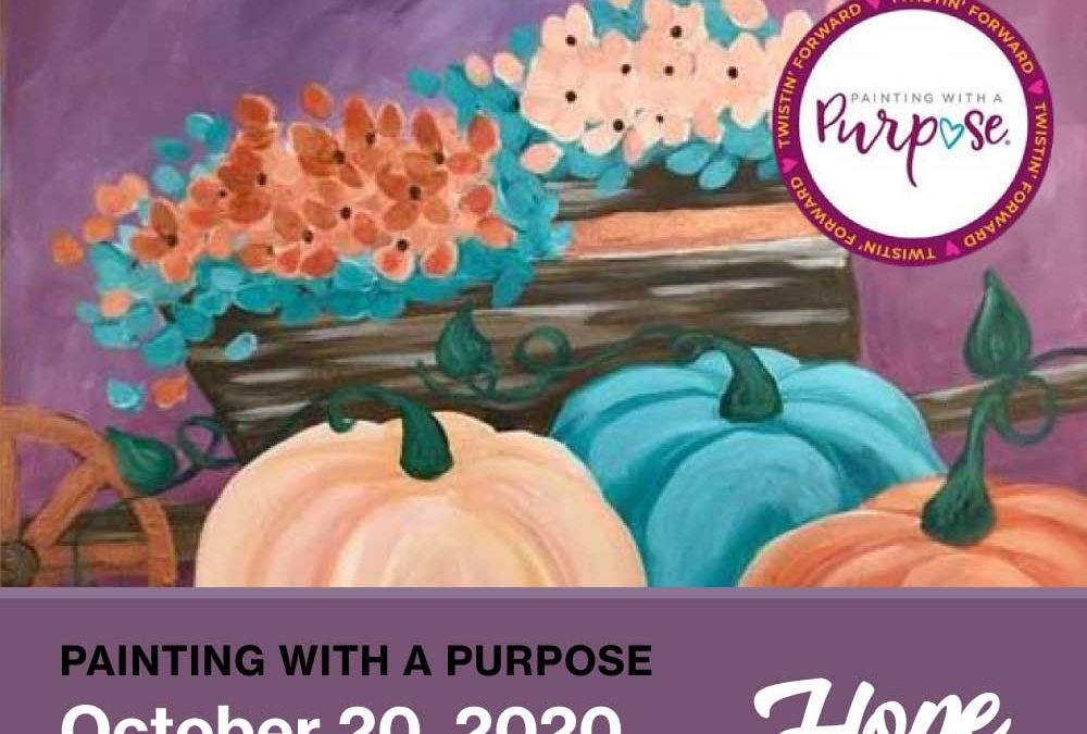 Painting with a Purpose at Painting with a Twist
